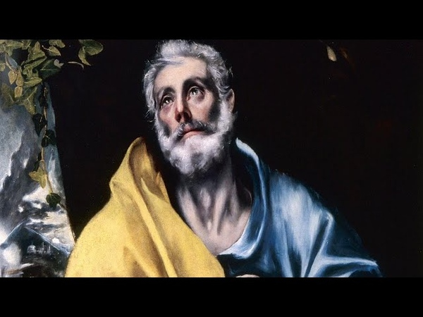 El Greco's Tears of St Peter A Saintly Portrait of Anguish and Atonement