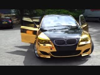 BMW M5 E60 Black-n-Gold