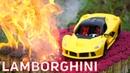 EXPERIMENT: 100 000 Matches VS Lamborghini Aventador Toy