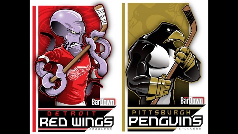 NHL Preseason | Detroit Red Wings vs Pittsburgh Penguins