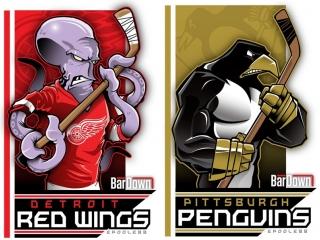 NHL Preseason   Detroit Red Wings vs Pittsburgh Penguins
