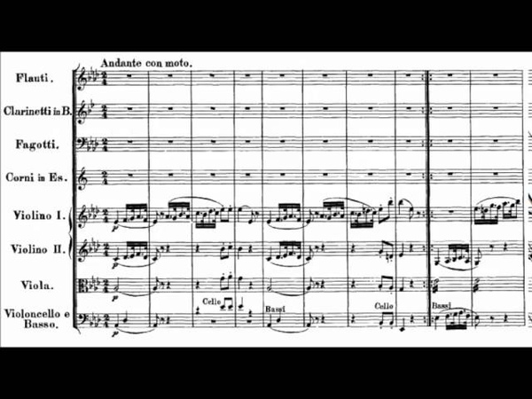 Mozart - Symphony No. 39 in E flat major, K. 543 {Schmidt-Isserstedt}