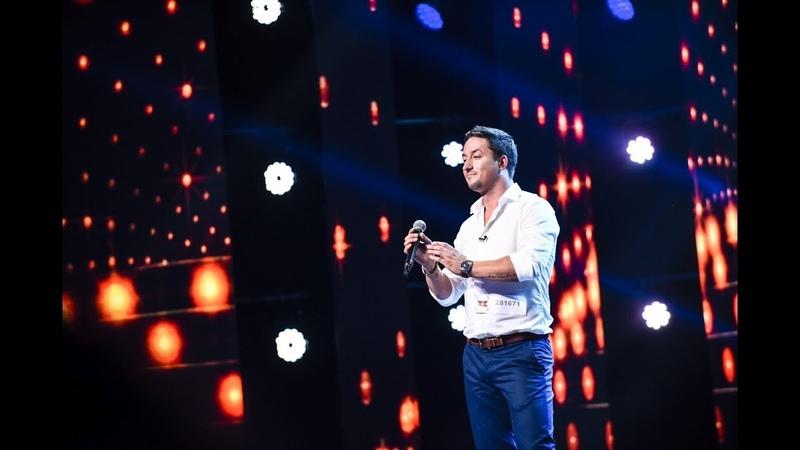 Când a fost să moară Ştefan. Vezi cum cântă Ștefan Leonte, la X Factor!