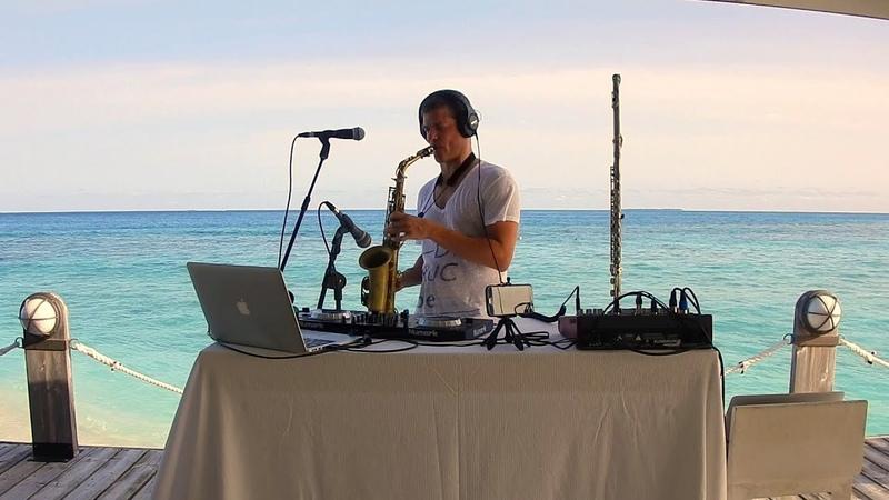THE SOUND OF JAZZ DEEP HOUSE - Sax, Flute, Nanokey and DJing - Thudufushi (Maldives)