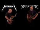 Metallica VS Megadeth (Guitar Riffs Battle)