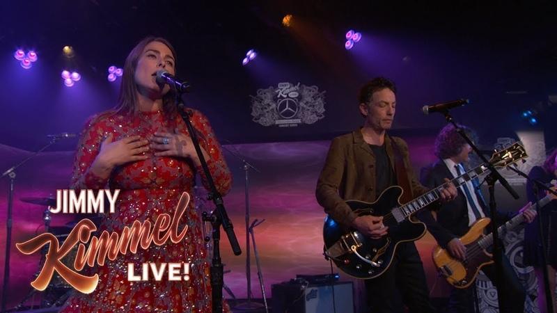 Jakob Dylan Jade Castrinos - Dedicated to the One I Love (Jimmy Kimmel Live)