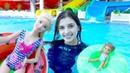 Барби и Челси в аквапарке. Видео для девочек. Мультики с куклами.