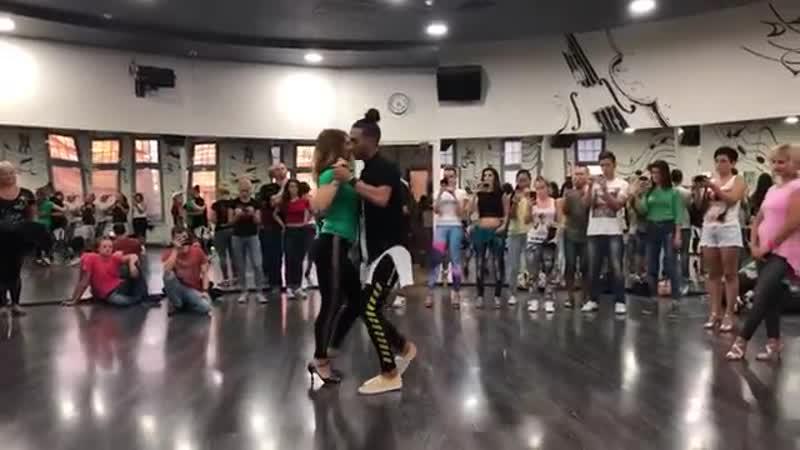 Kizomba Tango Influence - Improvisation by Fred-Nelson ft Julia