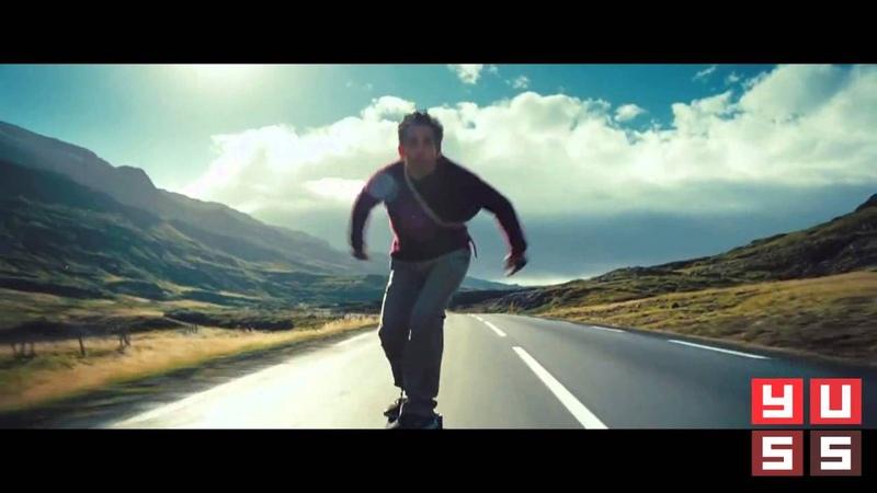 Уолтер Митти, сцена со скейтом