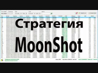 Стратегия MoonShot в Moon Bot