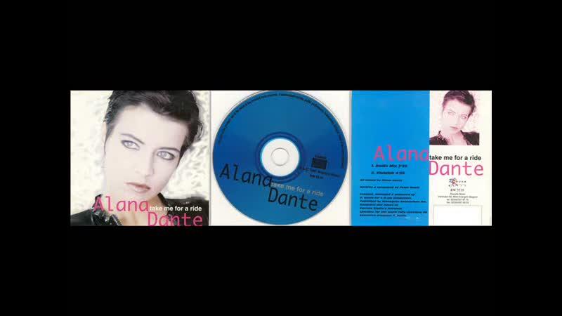 Alana Dante Take Me For A Ride Maxi Single 1997