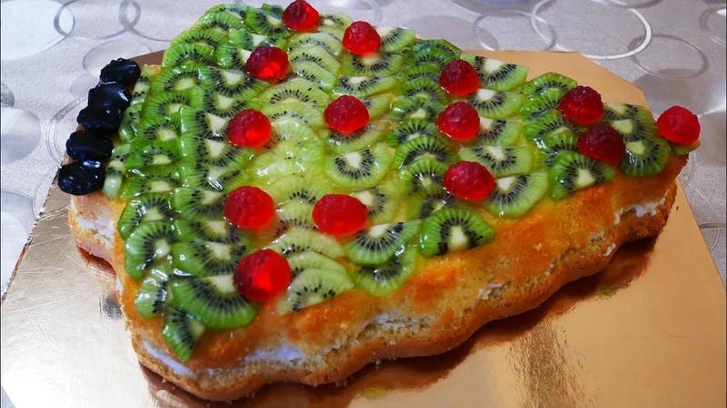 Торт СКАЗОЧНАЯ ЁЛОЧКА вкусный десерт для детей и взрослых на сладкий стол