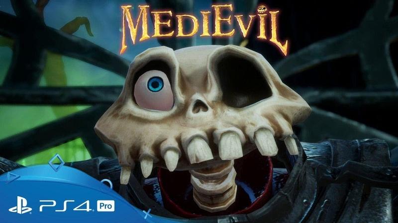 MediEvil | Анонсирующий трейлер | PS4