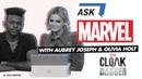 Aubrey Joseph Olivia Holt answer YOUR Marvel's Cloak Dagger questions Ask Marvel