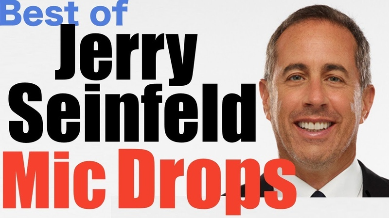 Ultimate Jerry Seinfeld Mic Drop Compilation