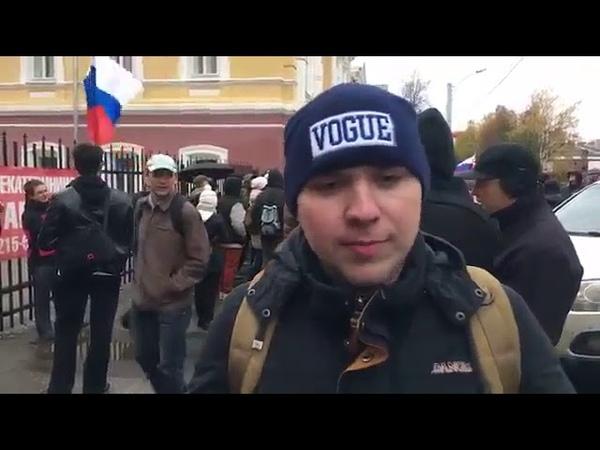 Скакуны навального в Перми. Октябрь 2017