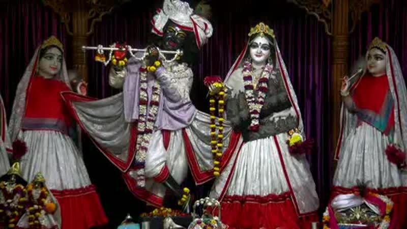 Darshan Arati of Sri Sri Radha Madhava