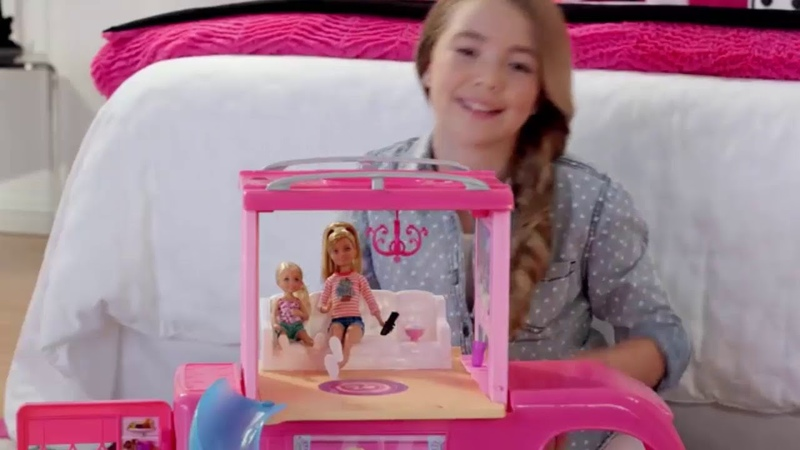 Barbie Pop Up Camper Vehicle - Amazon Exclusive