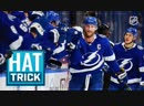 Stamkos nets hat trick against the Rangers