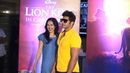 Karanvir Bohra Sunidhi Chauhan Mohit Sehgal Sanaya Irani attend screening of The Lion King