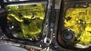 Toyota RAV4 полная многослойная шумоизоляция салона автомобиля. Внутренний тюнинг авто
