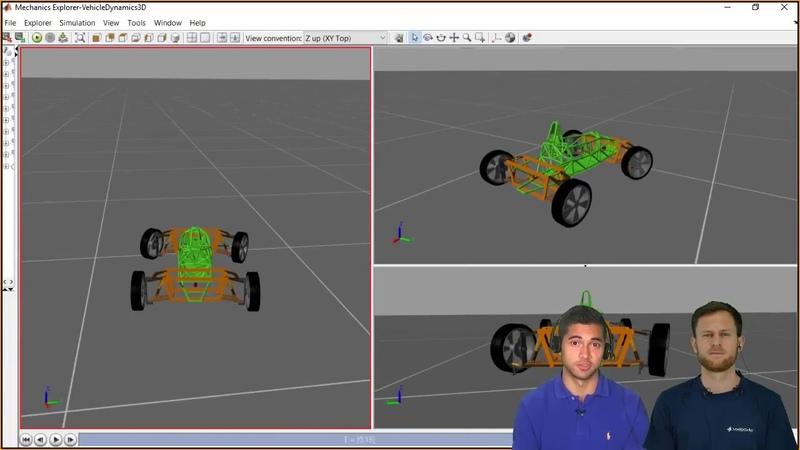 Vehicle Modeling Using Simscape Multibody