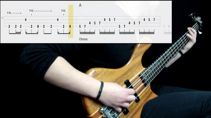 Led Zeppelin Immigrant Song Bass Cover Play Along Tabs In Video