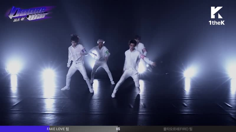 08.11.18 Канал 1theK(원더케이) на YouTube DANCE WAR Раунд 1 версия без масок