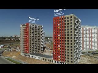 Восточное Бутово. Ход строительства сентябрь 2018 ГК ПИК www.pik.ru