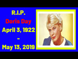 R.I.P. Doris Day April 3, 1922 - May 13, 2019 (American singer and actress) # Legends of HOLLYWOOD