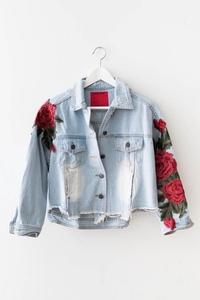 Термоаппликация Роза и идеи применения в одежде (фото с просторов интернета)