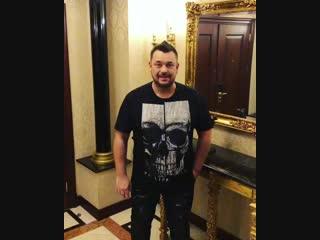 Видеоприглашение Сергея Жукова на концерты в Москве 15 и 16 декабря