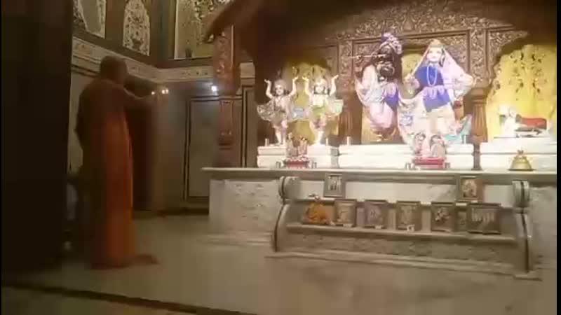 Мангала арати, Бахадургарх, 11.04.2019