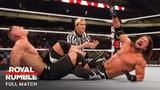 FULL MATCH - AJ Styles vs. John Cena - WWE Title Match Royal Rumble 2017 (WWE Network Exclusive)
