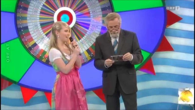 Marilena Kirchner die Brieflos Show 23-03-2014 ORF2