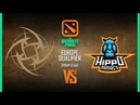 NiP vs Hippomaniacs Game 1 - Bucharest Minor EU Qualifier: Group Stage w/ KillerPigeon, Nahaz