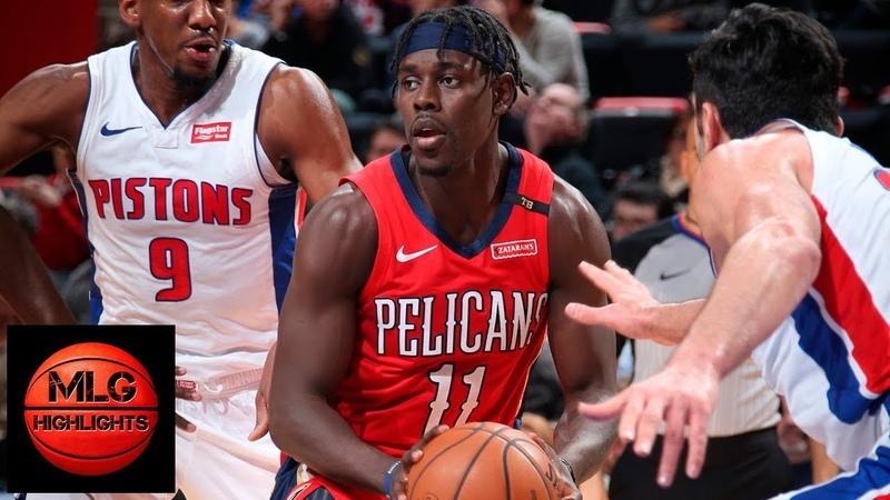New Orleans Pelicans vs Detroit Pistons Full Game Highlights | 12.09.2018, NBA Season