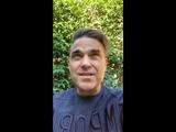 Robbie Williams live Instagram 21.10.2018