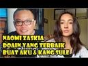 Ditanya Rencana Menikah April 2019 Naomi Zaskia Doain yang Terbaik buat Aku dan Kang Sule