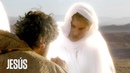 Jesús Gabriel se presenta ante Jesús para ayudarlo tras su batalla contra Satanás
