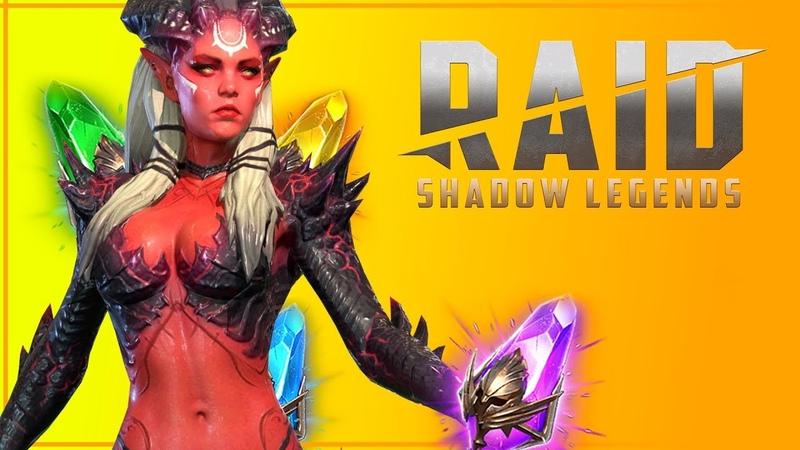 Эта игра украла все мое время!   Обзор Raid: Shadow Legends   MobileGame