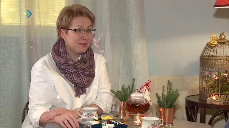 Галина Нагаева в передаче Студия 11 телеканала Юрган
