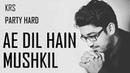 Ae Dil Hain Mushkil Instrumental Electro Arijit Singh Pritam KRS