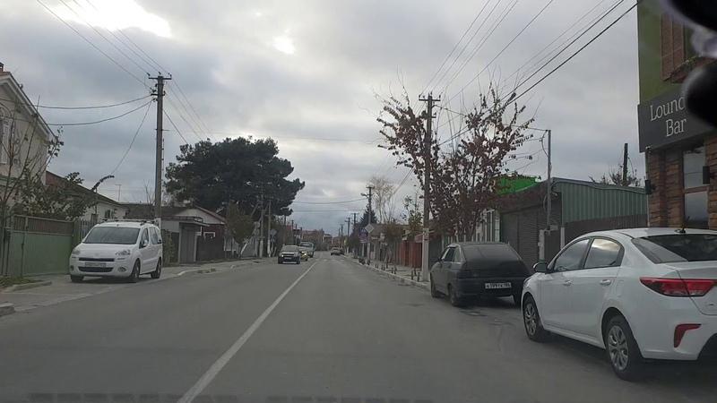 Витязево ул. Черноморская - Полный ОБЗОР - Ноябрь 2018