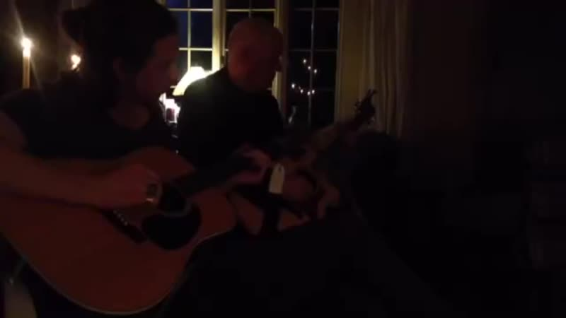 DAVID GILMOUR and WILLOW ROBINSON JAM (2015)