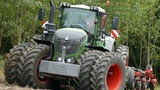 Fendt 1050 Vario Going Deep in Hard Clay Soil Seeding w Horsch Focus 6TD DK Agriculture