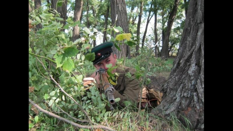 Фрагмент битвы за г Днепропетровск Бой 95 го Надворнянского погранотряда на подступах к г Синельниково Днепропетровской обл