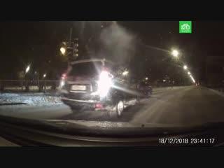 Ночная гонка за пьяным водителем в Выборге
