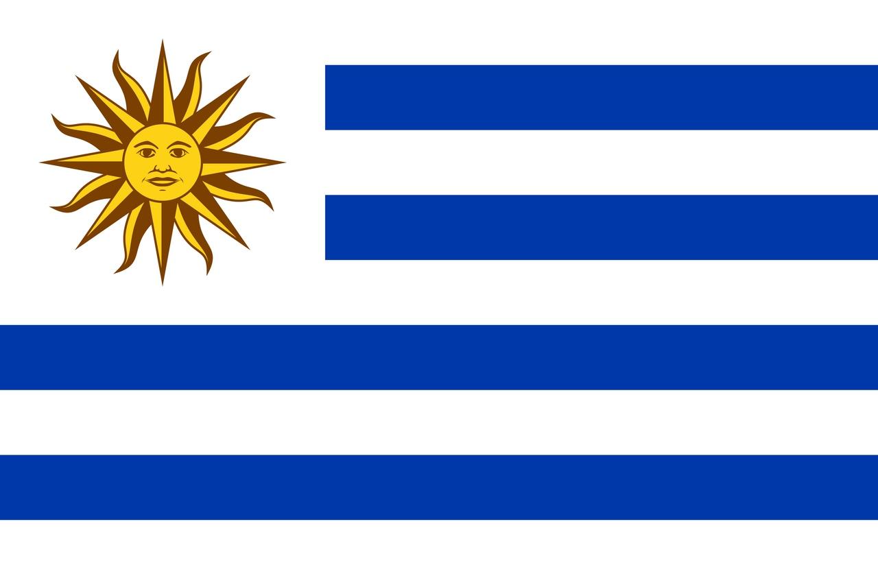 Флаг Уругвай