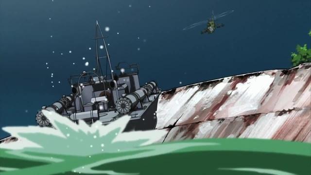 Пираты черной лагуны (эпичная дуэль катера и вертолета) (Excision)